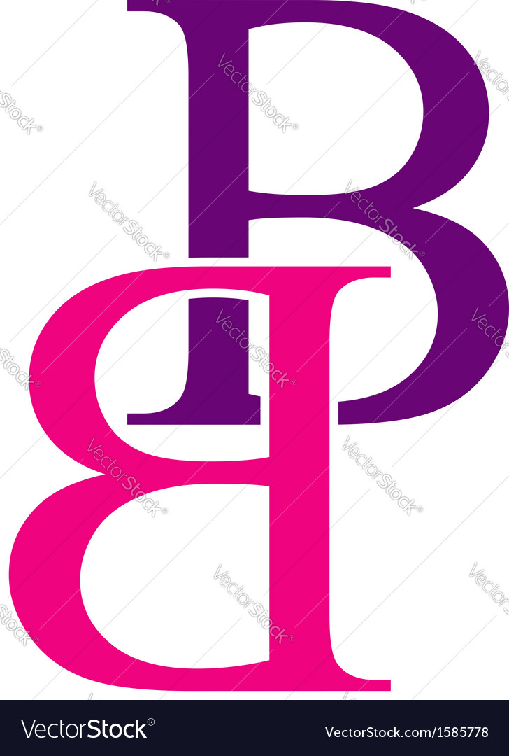 Capital b logo vector | Price: 1 Credit (USD $1)
