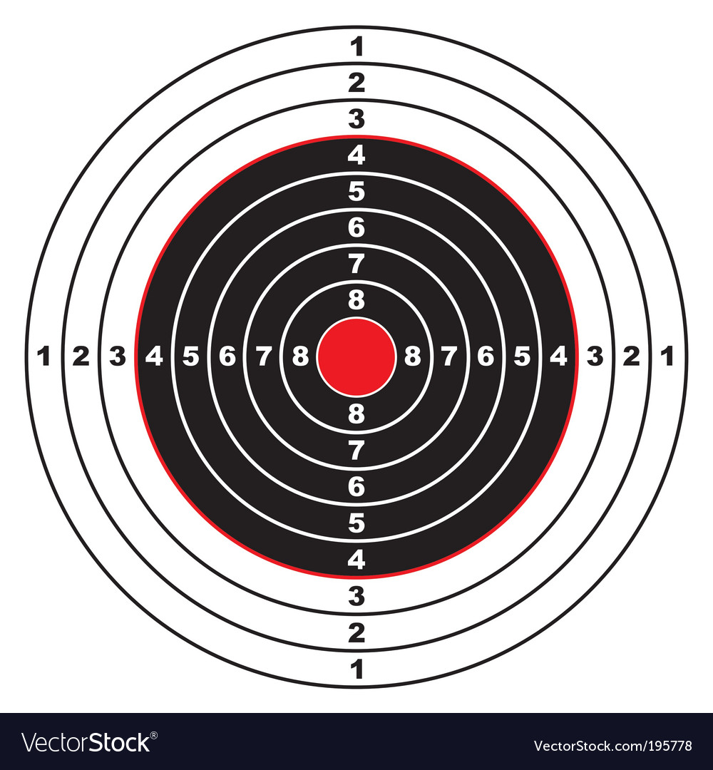 Rifle target vector | Price: 1 Credit (USD $1)