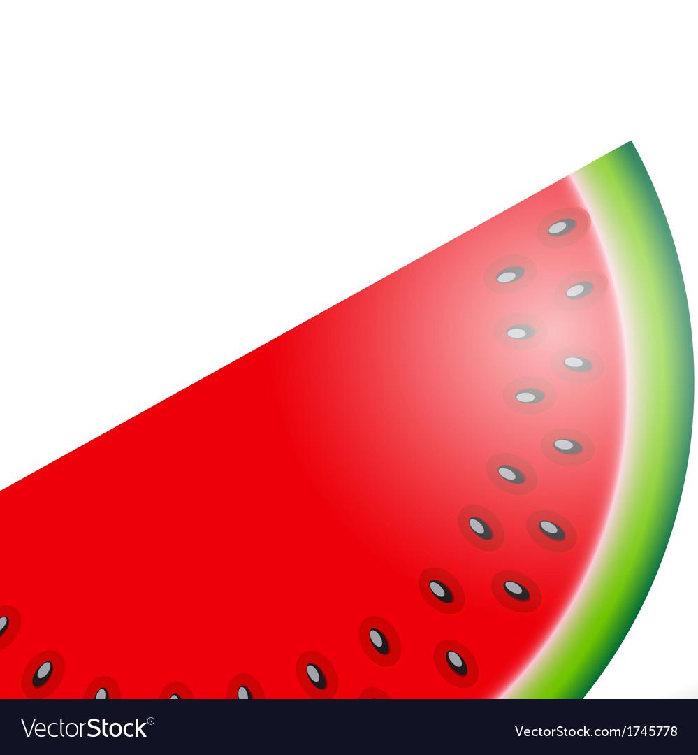 Watermelon icon vector | Price: 1 Credit (USD $1)
