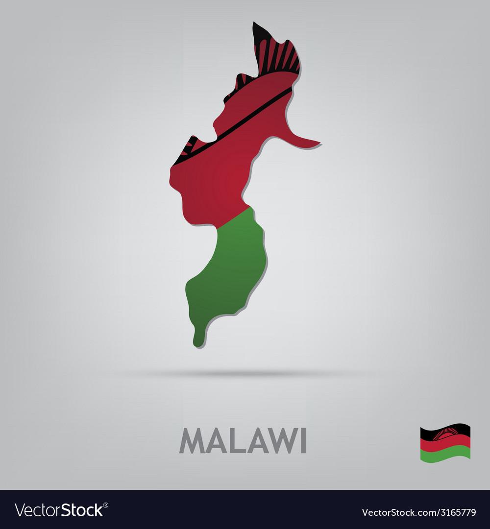 Malawi vector | Price: 1 Credit (USD $1)