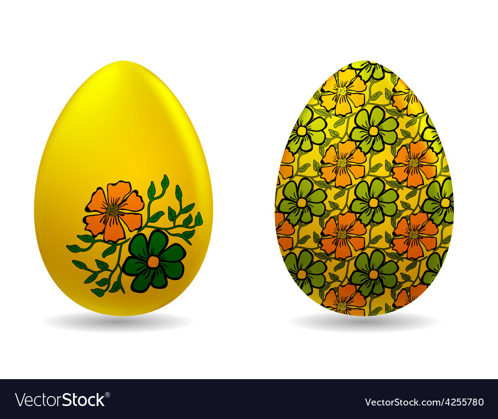 - easter eggs vector | Price: 1 Credit (USD $1)