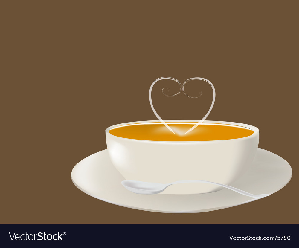 Pumpkin soup vector | Price: 1 Credit (USD $1)