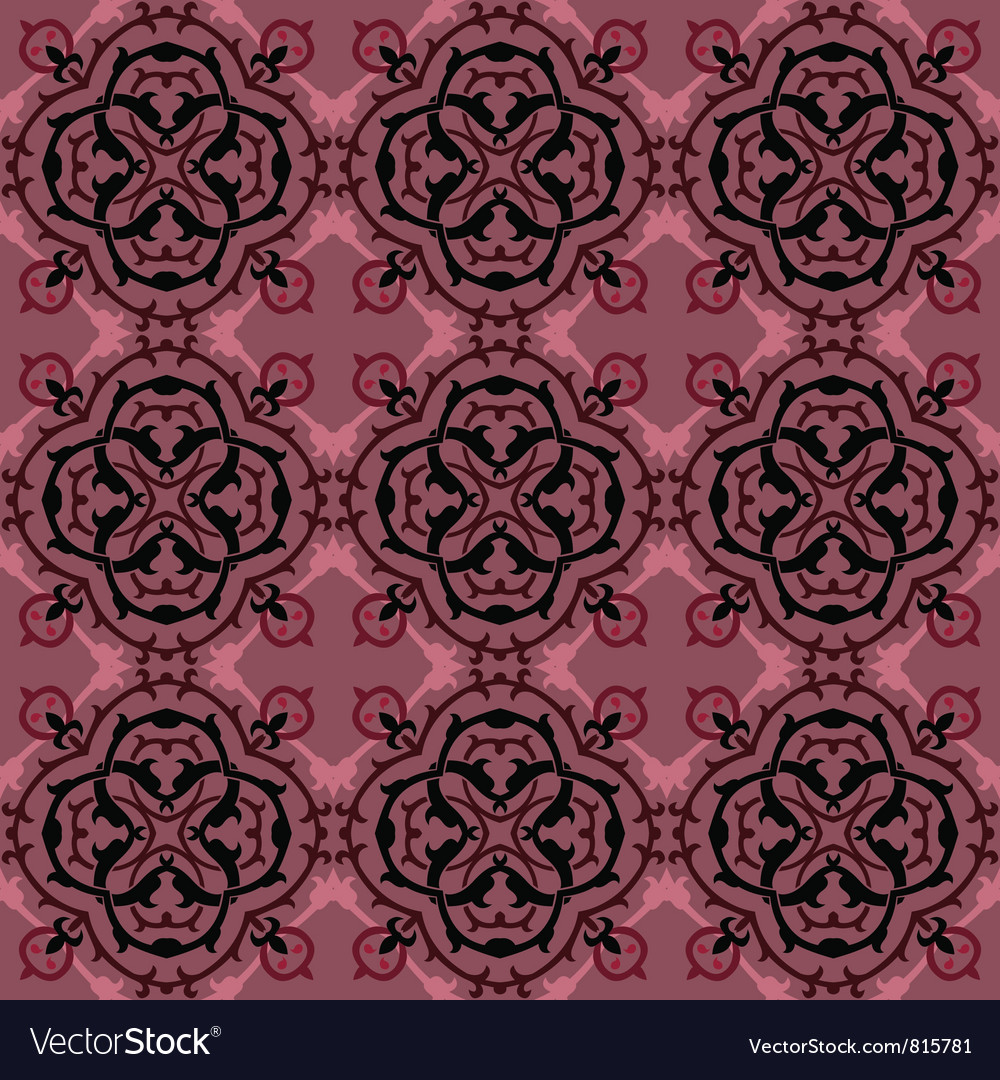 Abstract ethnic seamless background vector | Price: 1 Credit (USD $1)