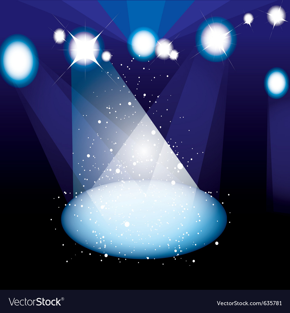 Concert spotlight vector | Price: 1 Credit (USD $1)