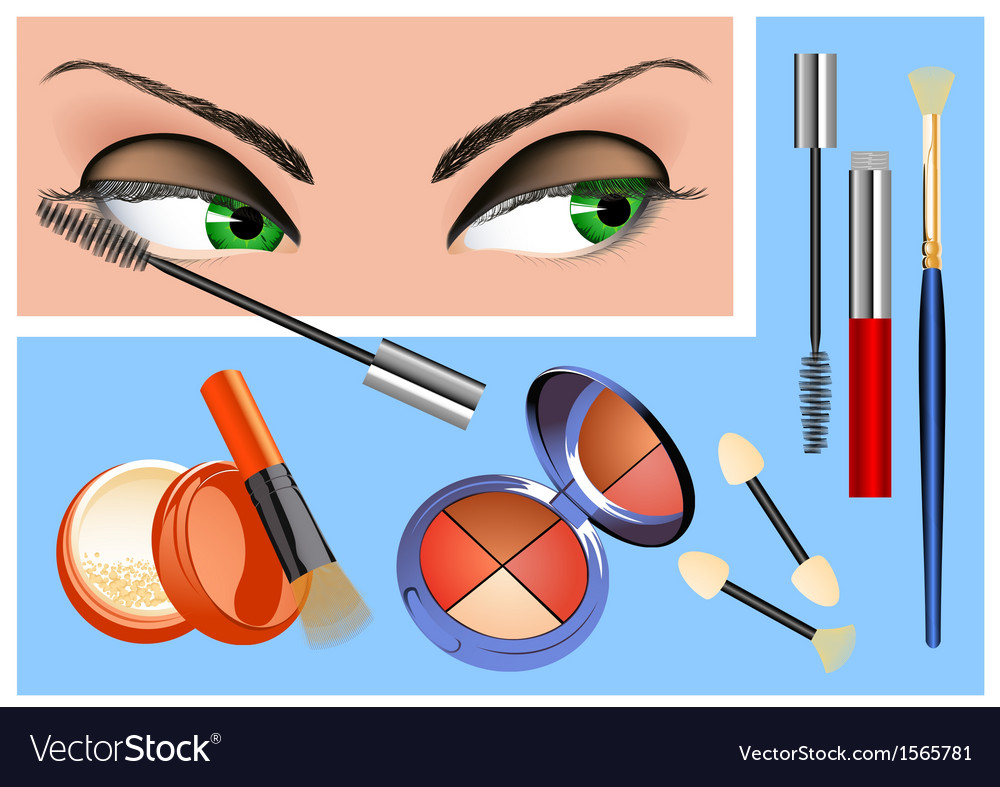 Mascara vector | Price: 1 Credit (USD $1)