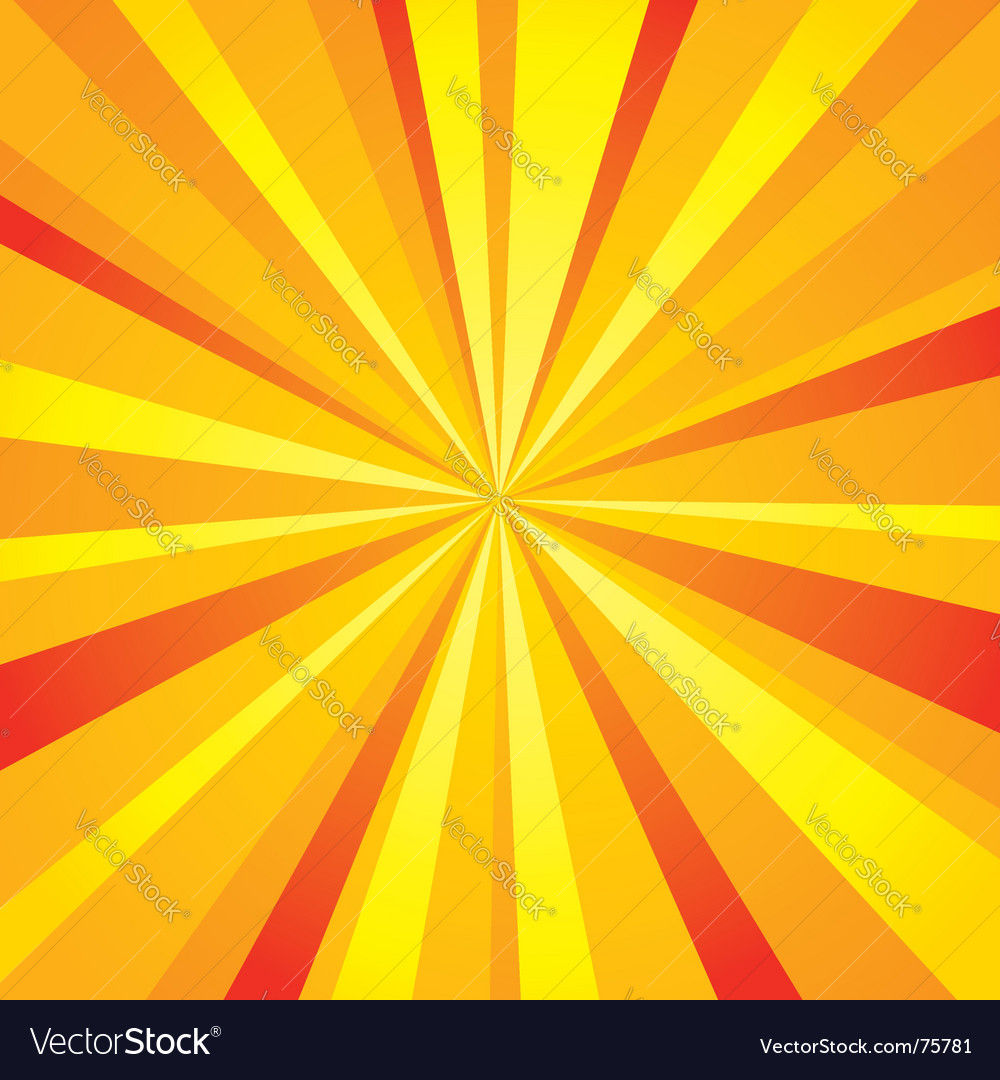 Sun rays background vector | Price: 1 Credit (USD $1)