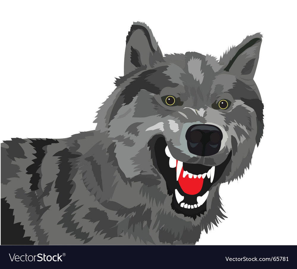 Wolf vector | Price: 1 Credit (USD $1)