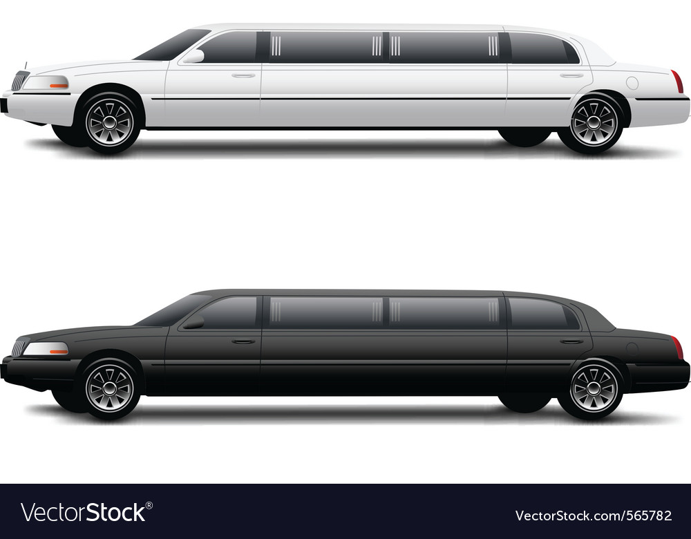 Limousine vector | Price: 3 Credit (USD $3)