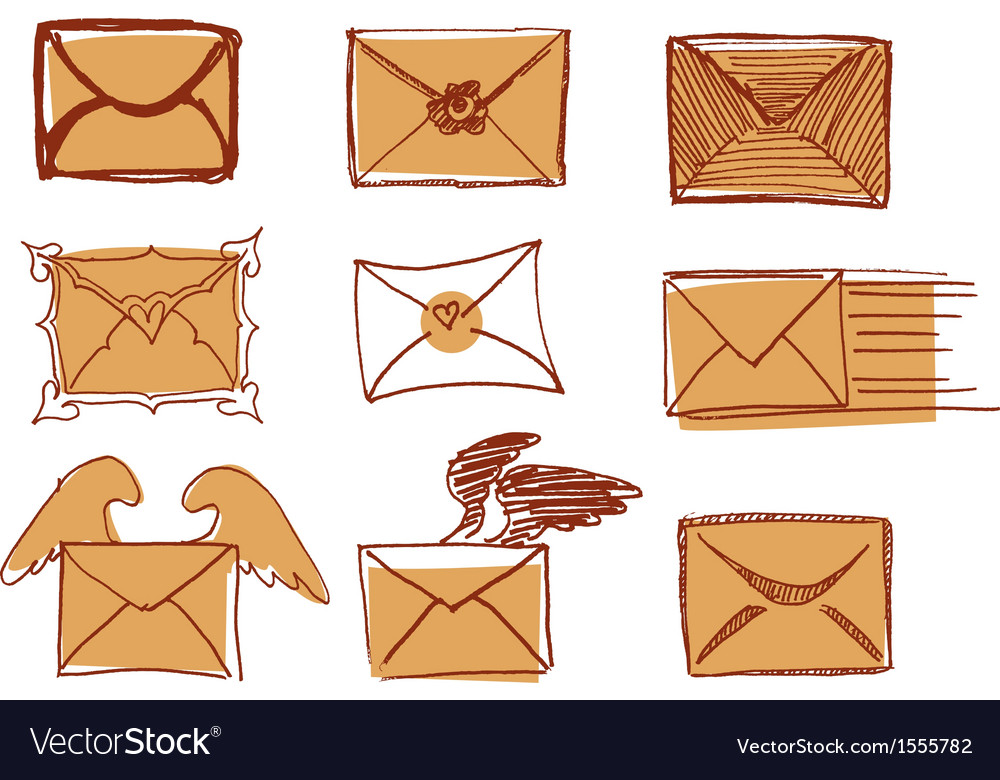 Set of drawn messages vector