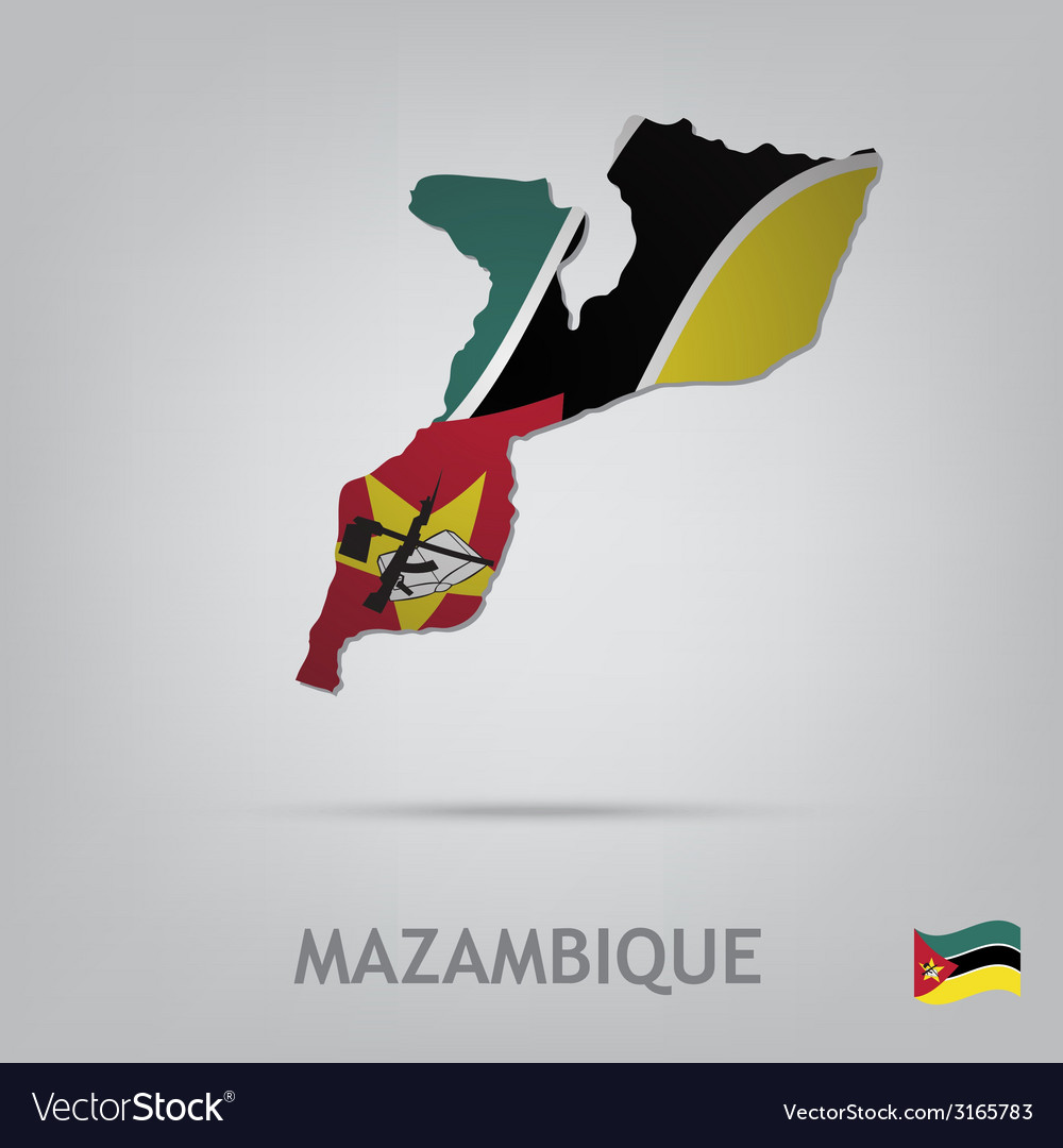 Mazambique vector | Price: 1 Credit (USD $1)