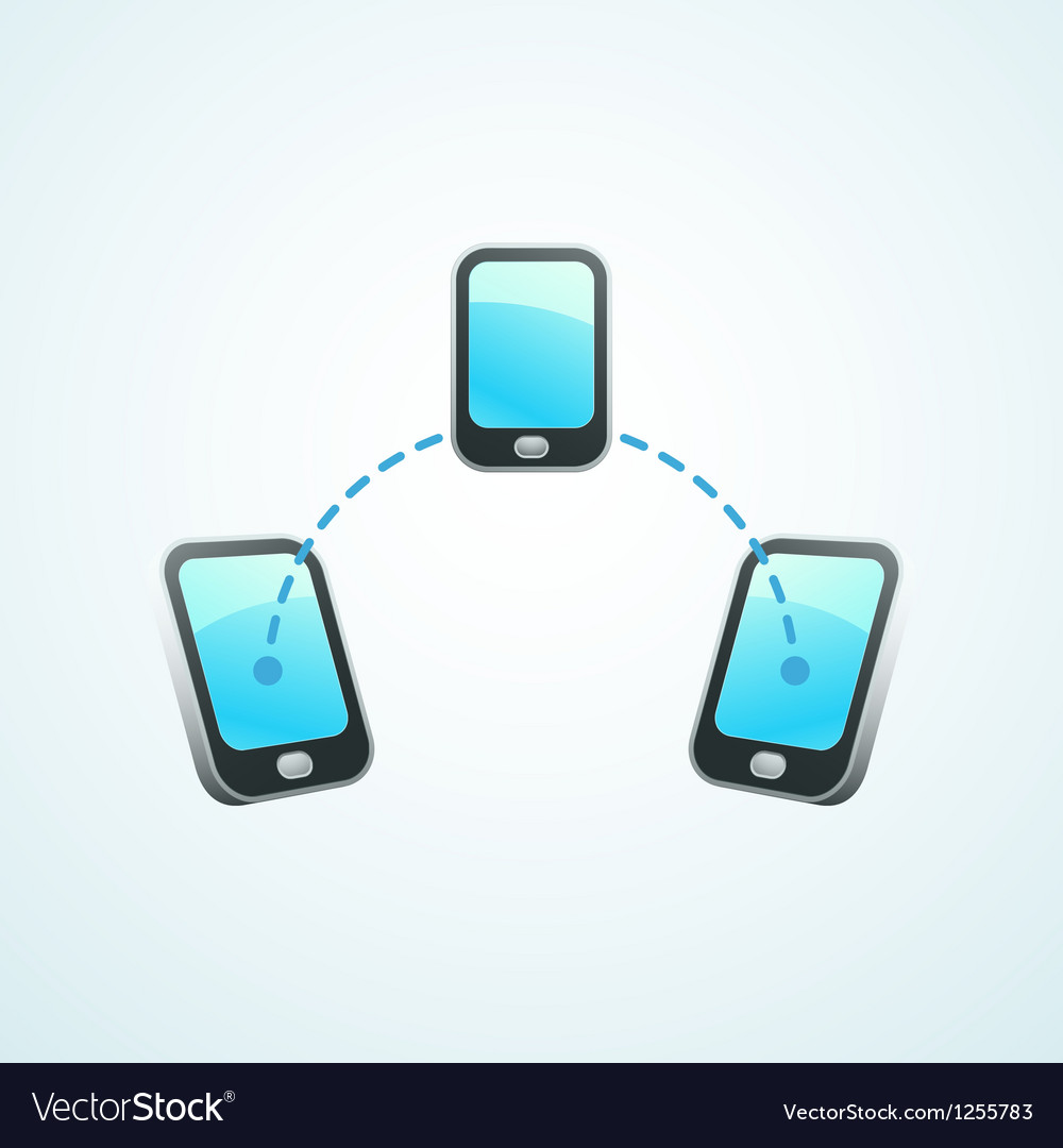 Mobile connection vector | Price: 1 Credit (USD $1)