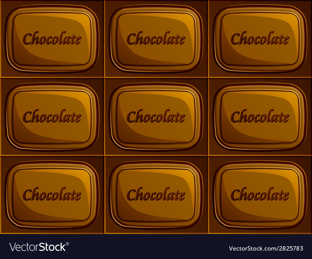 Seamless chocolate vector | Price: 1 Credit (USD $1)