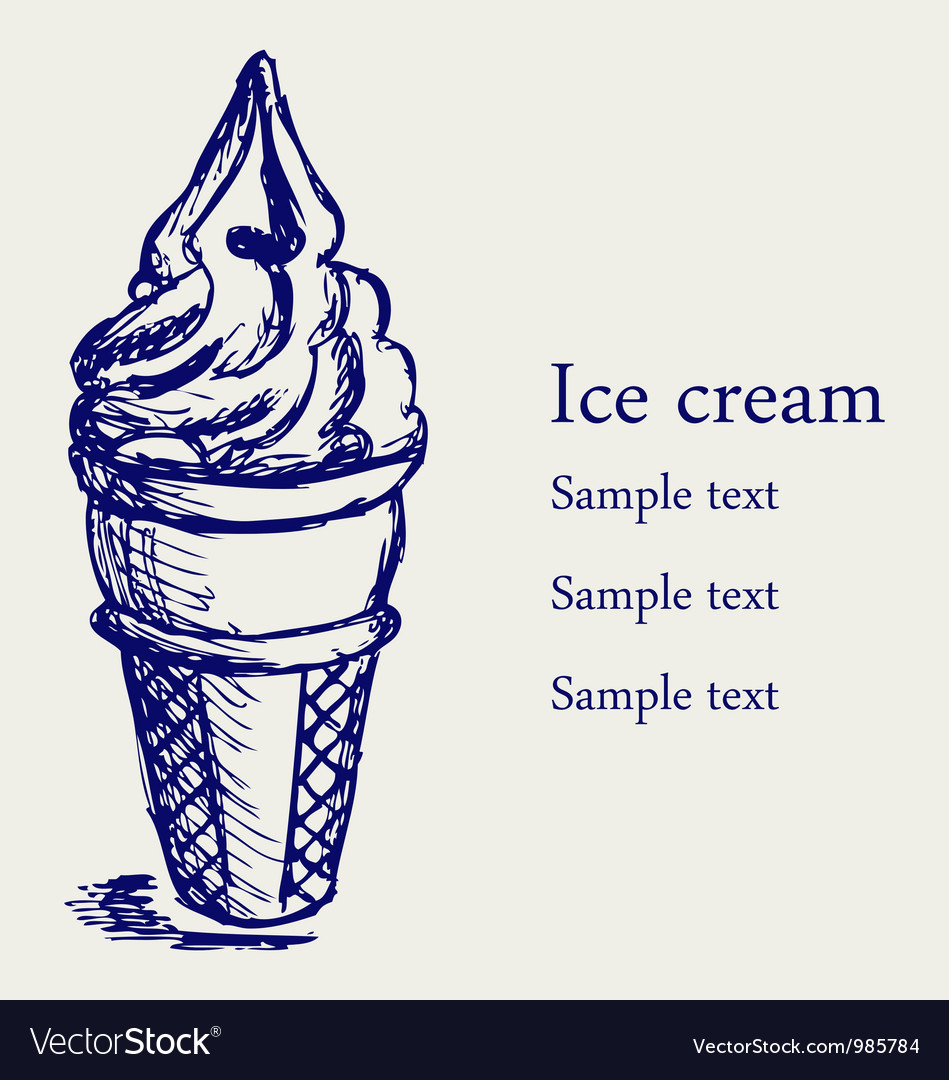 Soft serve ice vector | Price: 1 Credit (USD $1)