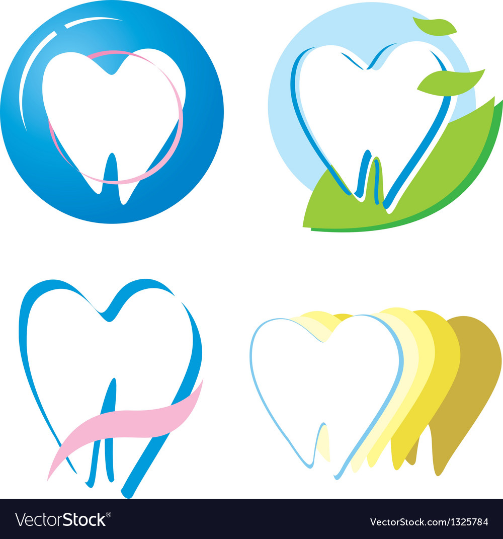 Tooth design vector | Price: 1 Credit (USD $1)
