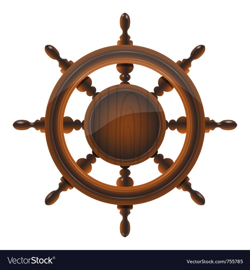 Ship wheel vector | Price: 3 Credit (USD $3)