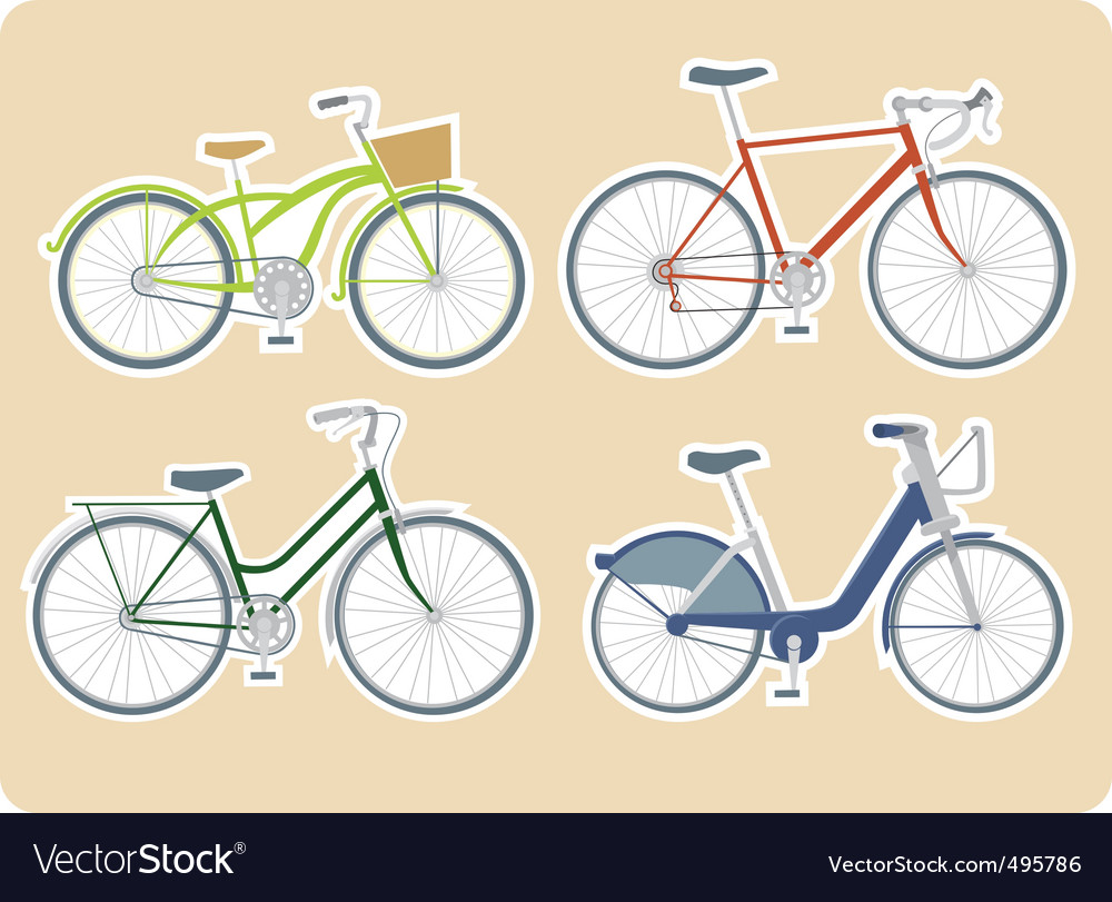 Bicycles vector | Price: 3 Credit (USD $3)