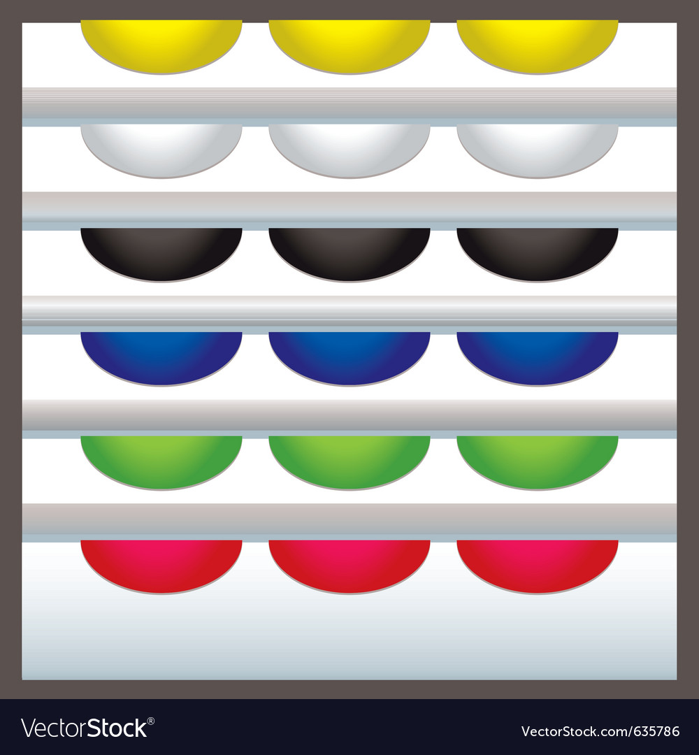 Colourful web tabs vector | Price: 1 Credit (USD $1)