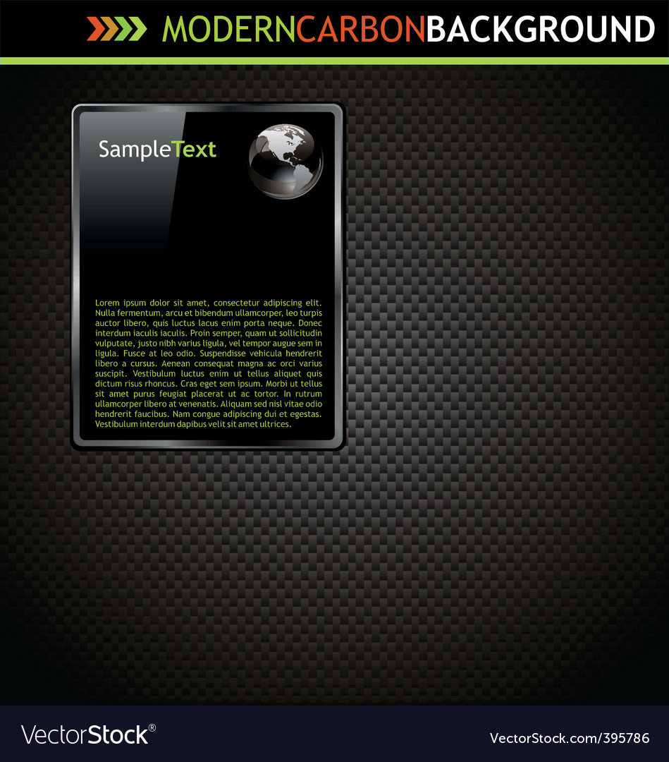 Modern carbon background vector | Price: 1 Credit (USD $1)