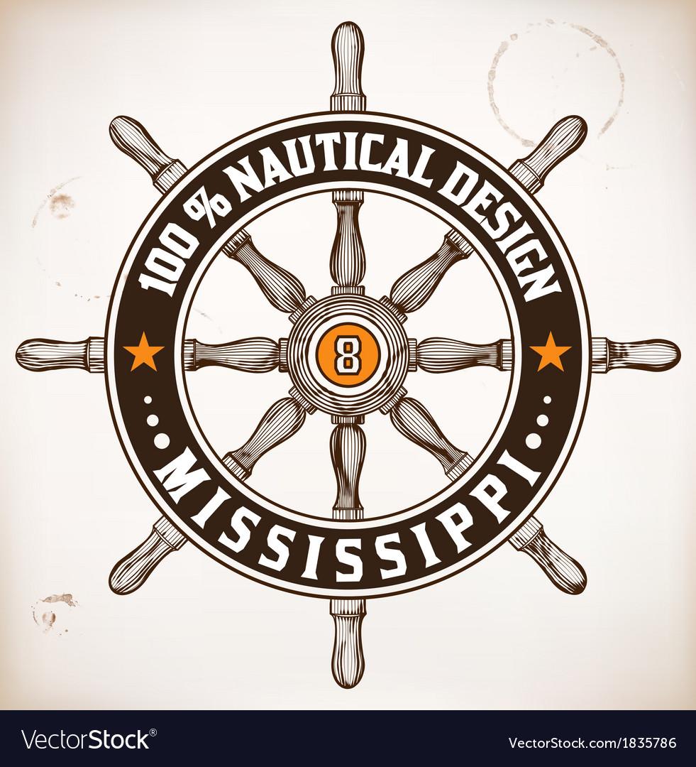 Nautical design vector   Price: 1 Credit (USD $1)