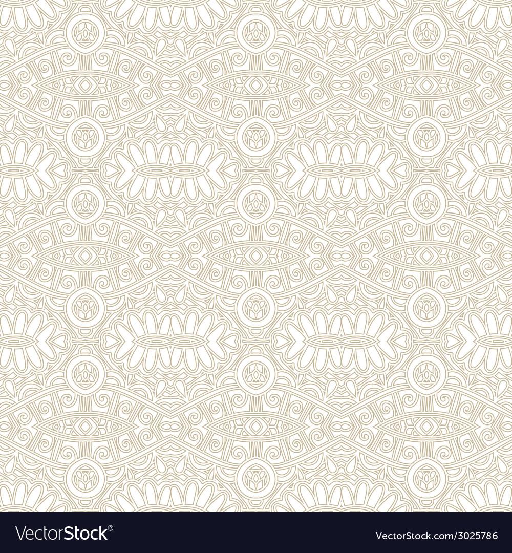 Seamless light ornamental geometrical background vector | Price: 1 Credit (USD $1)