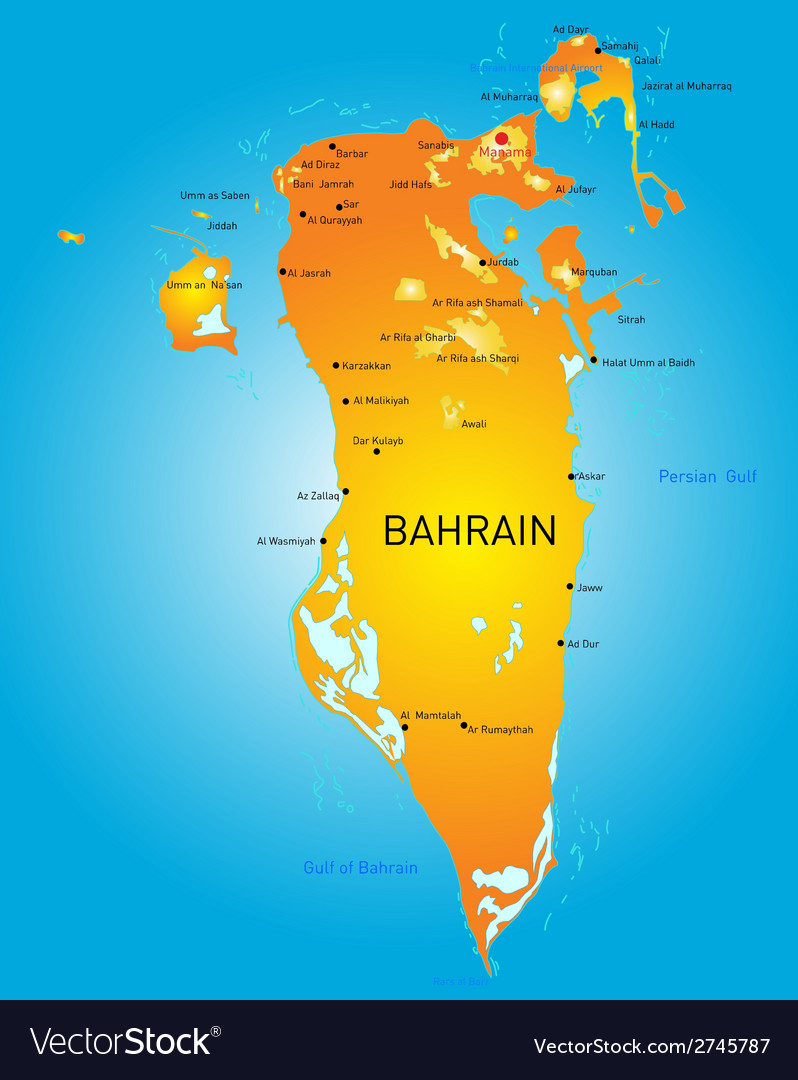 Bahrain vector | Price: 1 Credit (USD $1)