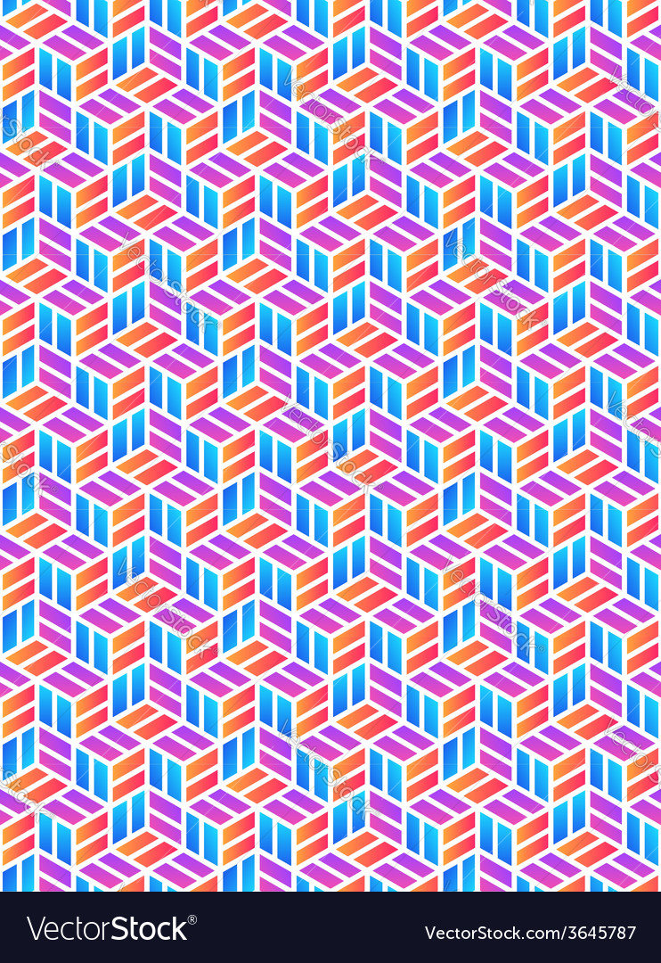 Colored geometric pattern vector | Price: 1 Credit (USD $1)