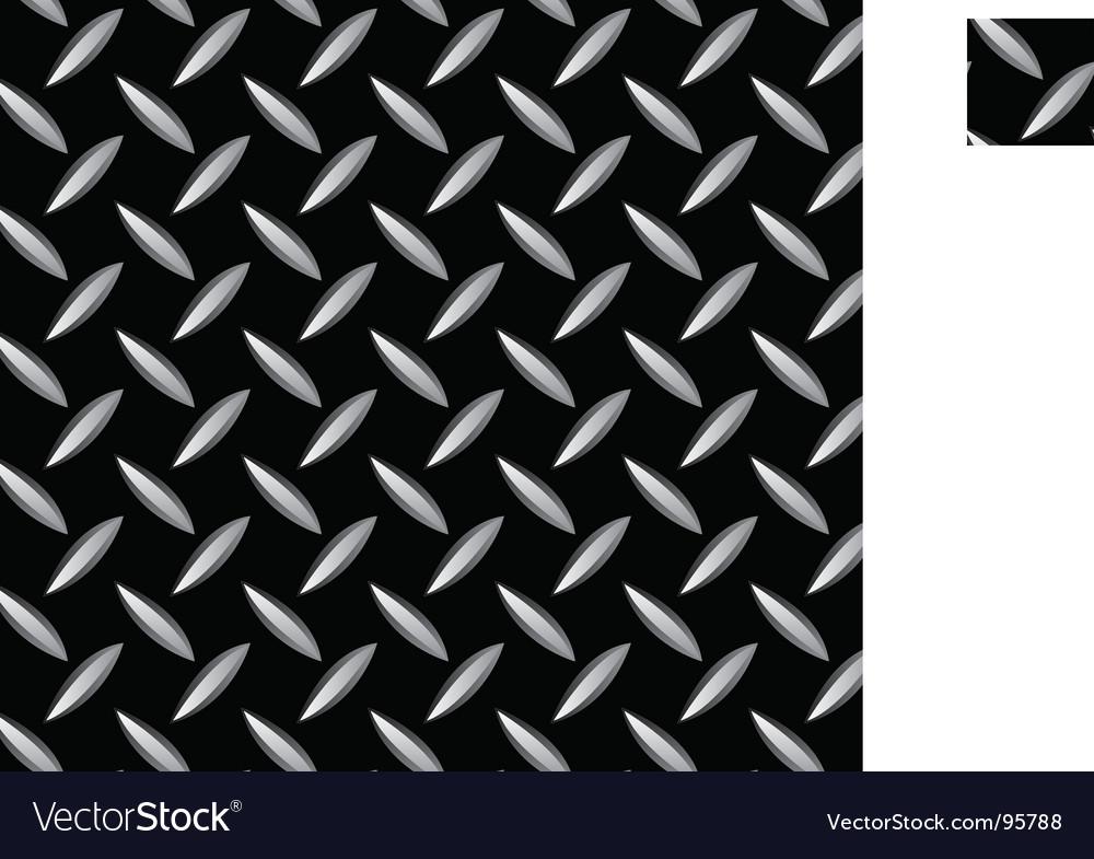 Metal seamless pattern vector