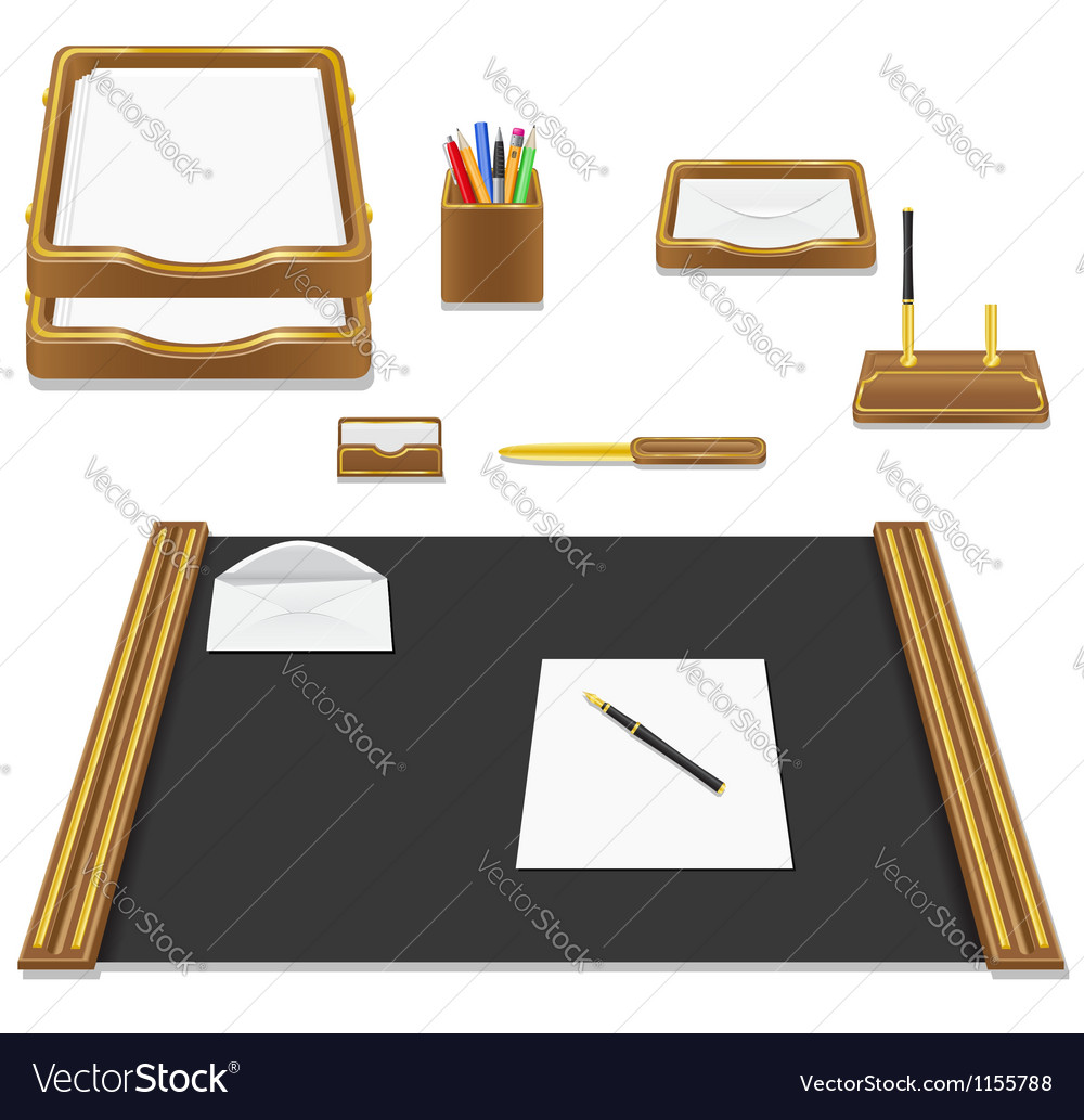 Stationery office vector | Price: 3 Credit (USD $3)