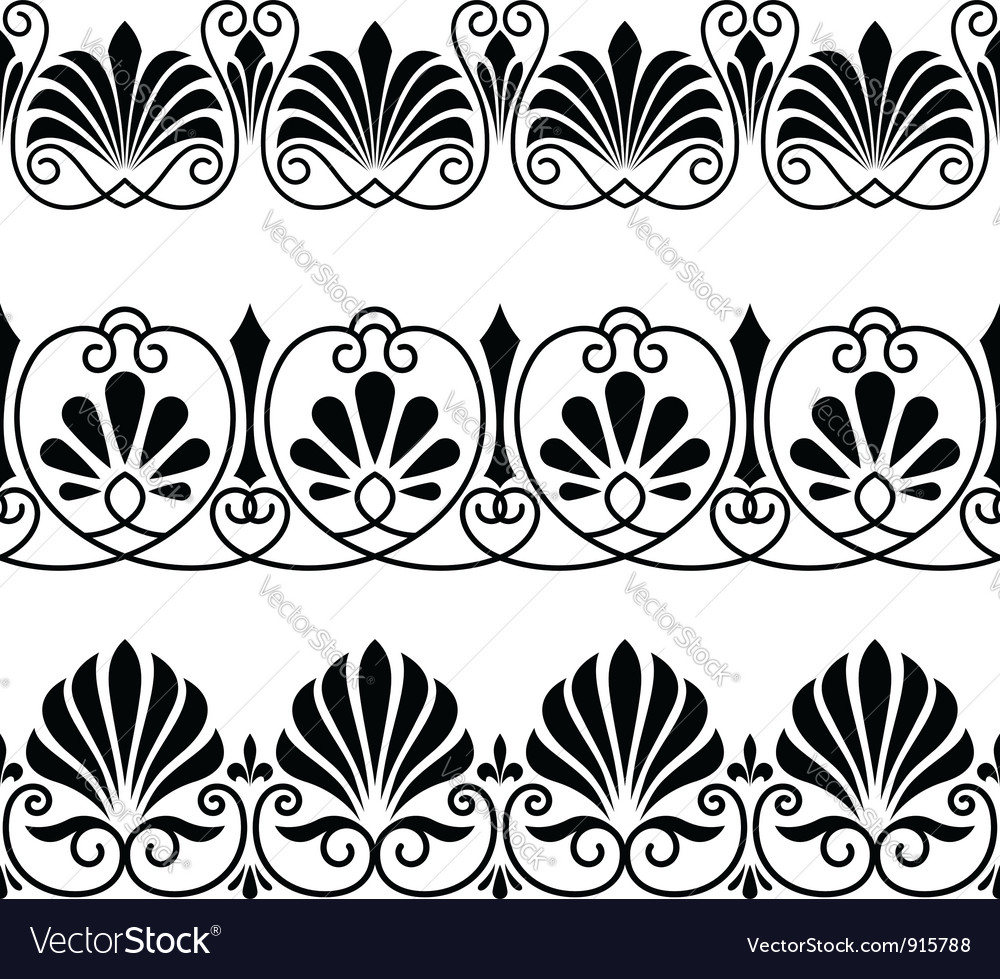 Vintage floral ornaments vector | Price: 1 Credit (USD $1)
