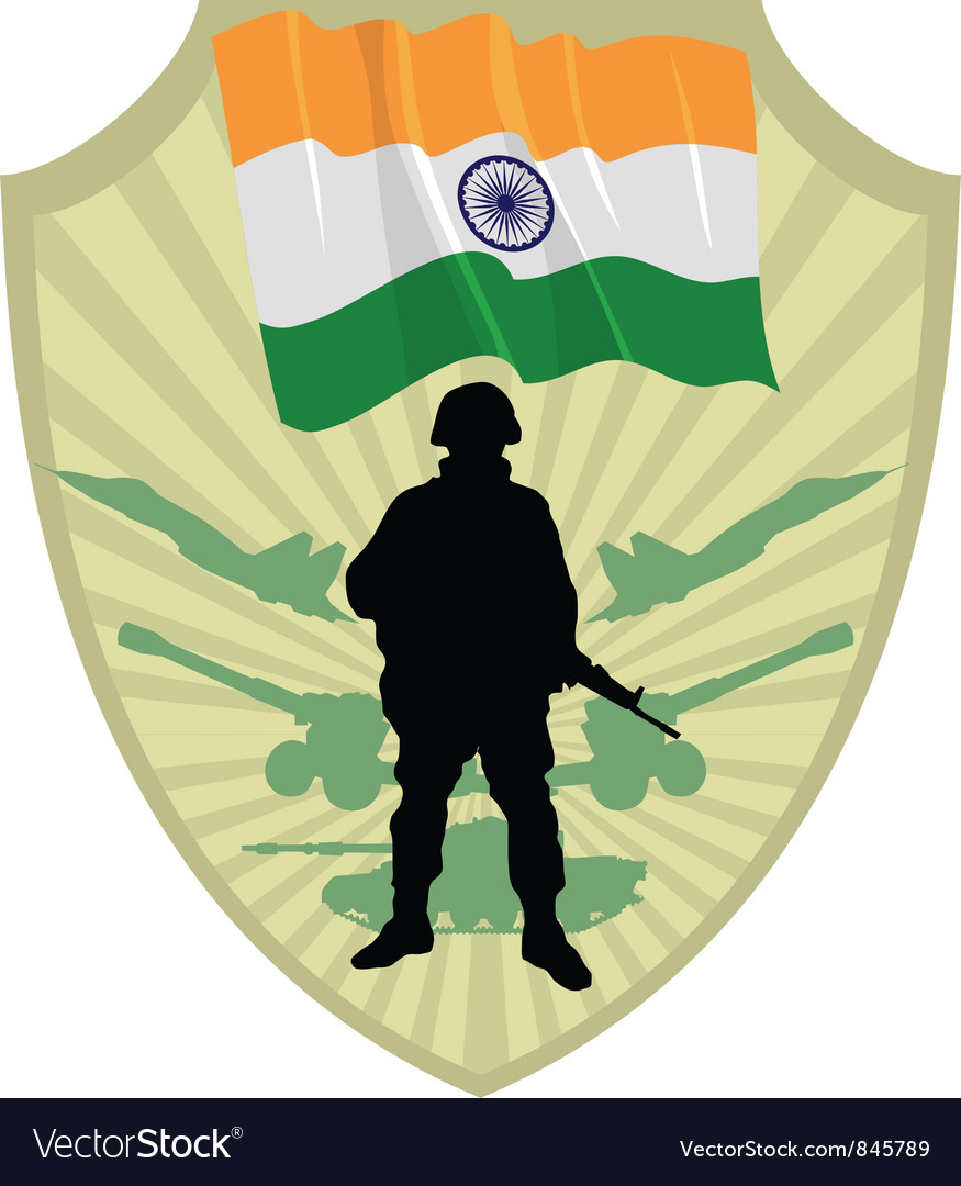 Army of india vector | Price: 1 Credit (USD $1)