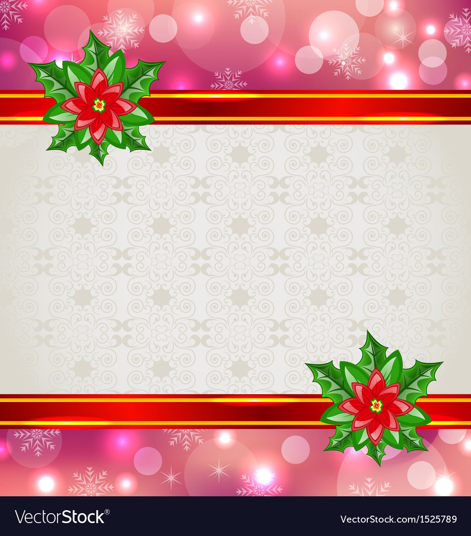 Christmas elegant card vector | Price: 1 Credit (USD $1)