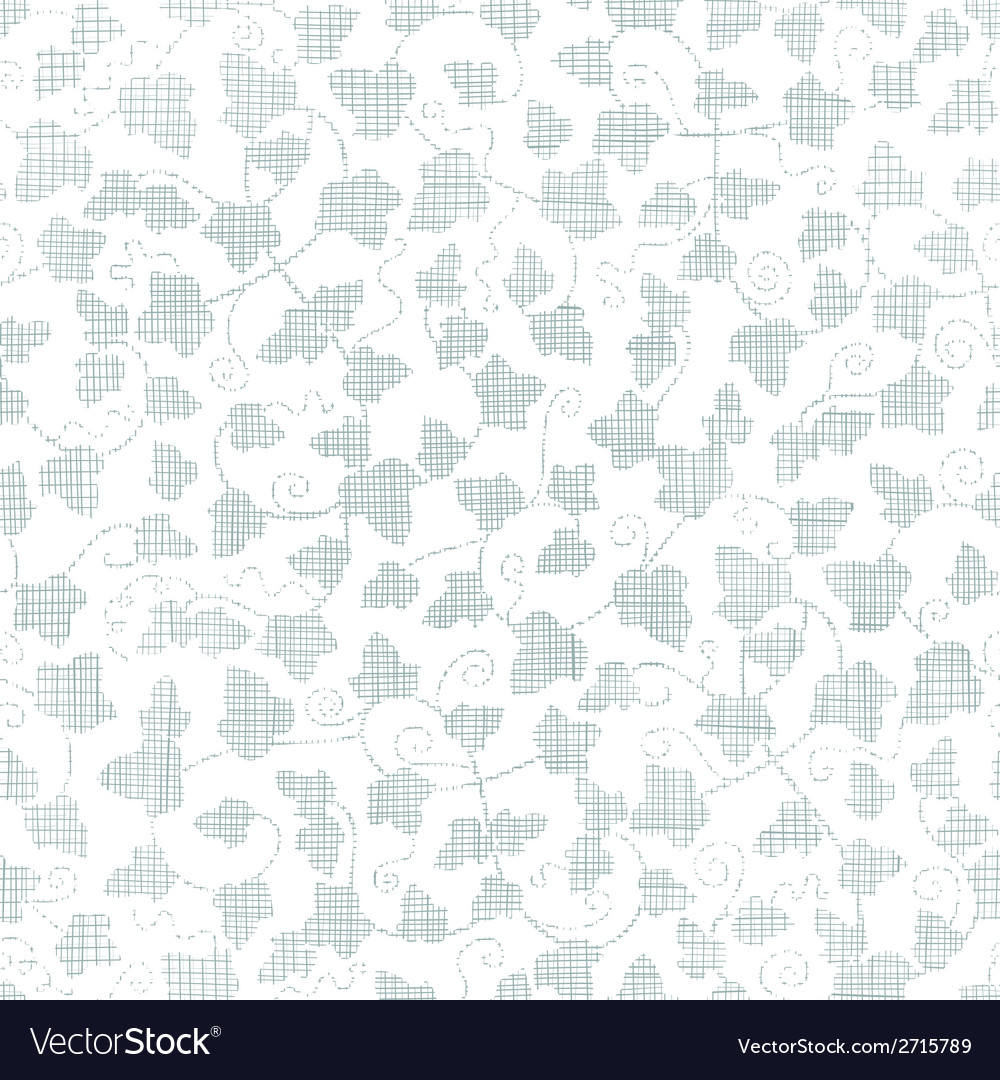 Sylver ivy textile texture seamless pattern vector | Price: 1 Credit (USD $1)