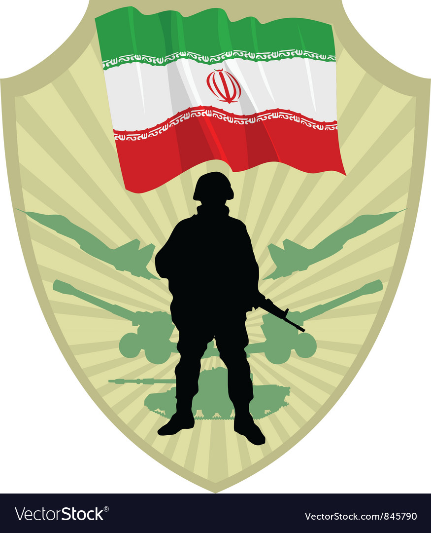 Army of iran vector | Price: 1 Credit (USD $1)