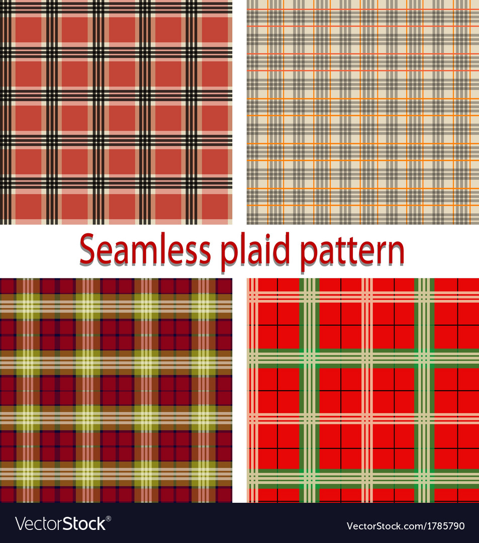 Seamles plaid vector | Price: 1 Credit (USD $1)
