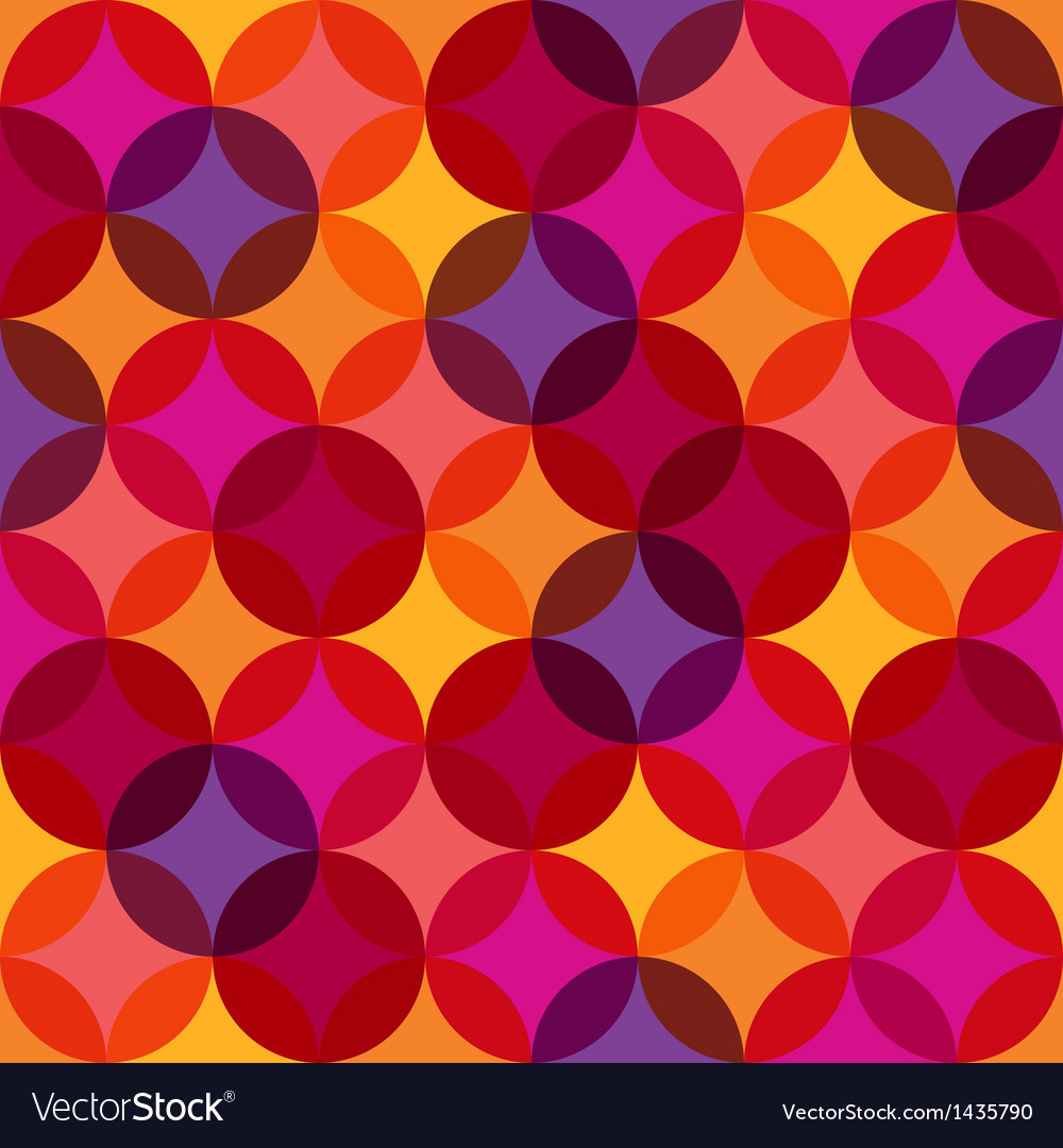 Seamless vibrant pattern background vector | Price: 1 Credit (USD $1)
