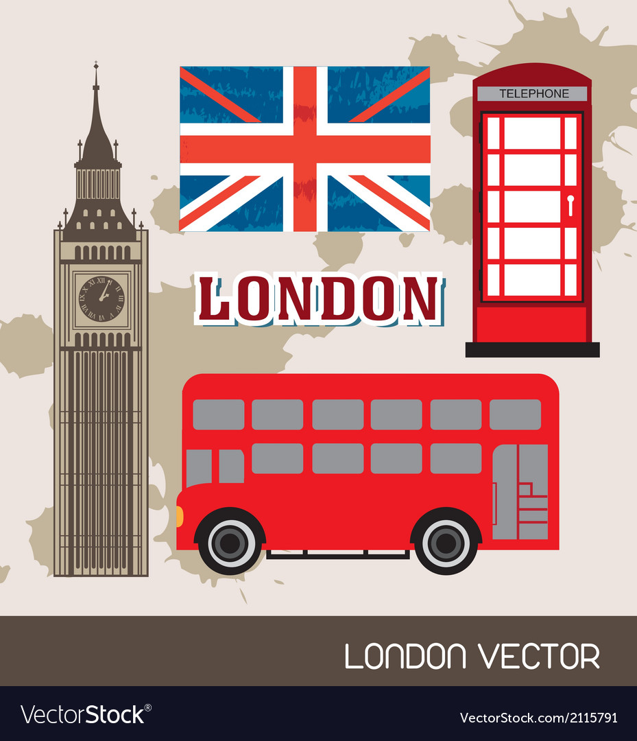 London elements vector | Price: 1 Credit (USD $1)