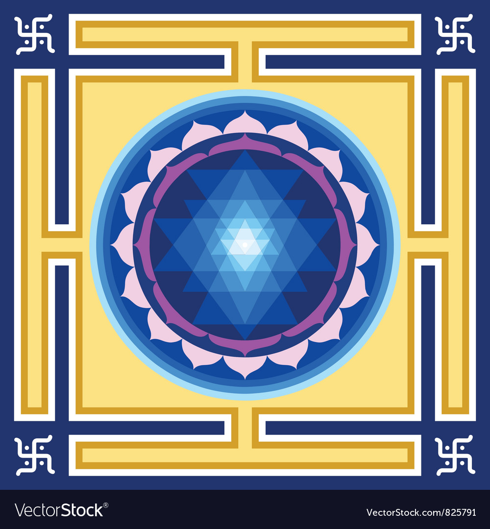 Shri yantra vector | Price: 1 Credit (USD $1)