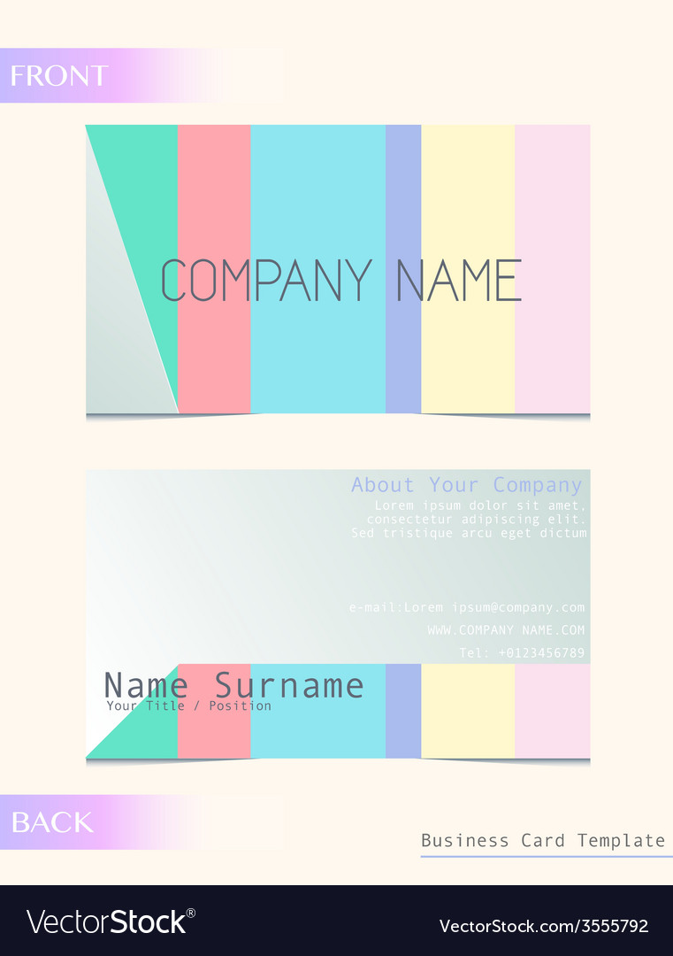 A calling card vector | Price: 1 Credit (USD $1)