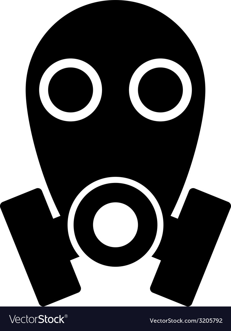 Gas mask icon vector | Price: 1 Credit (USD $1)