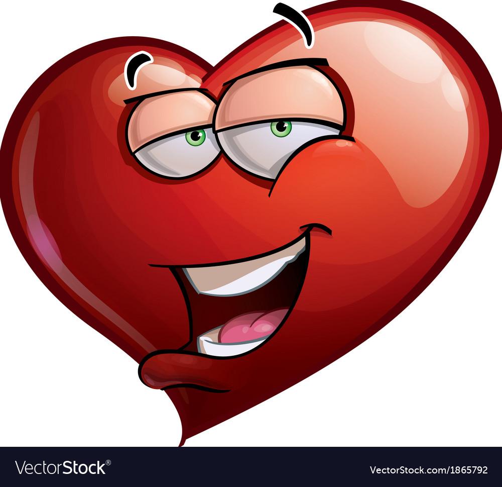 Heart faces hi vector | Price: 1 Credit (USD $1)