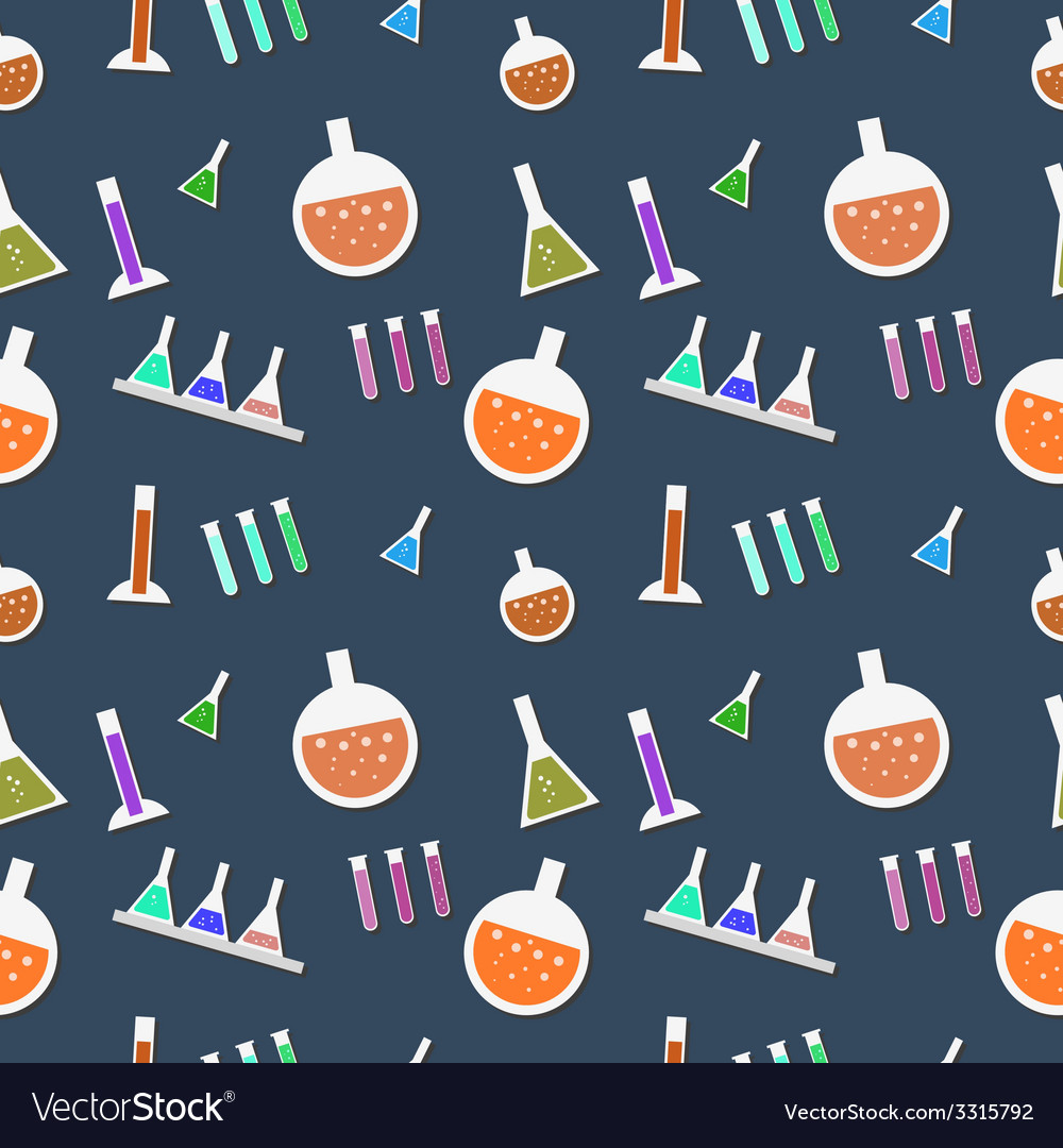 Seamless lab pattern in vector | Price: 1 Credit (USD $1)