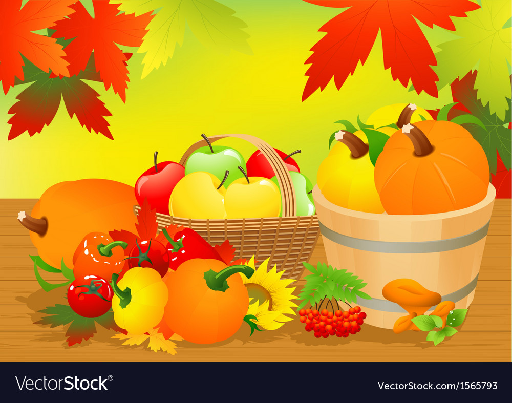 Autumn abundance vector | Price: 1 Credit (USD $1)