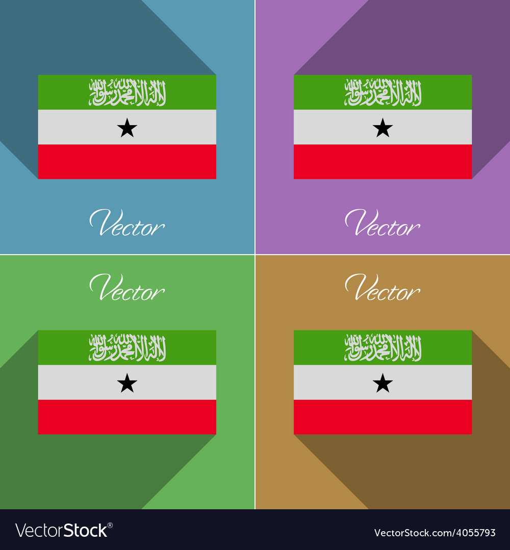 Flags south africa set of colors flat design and vector | Price: 1 Credit (USD $1)