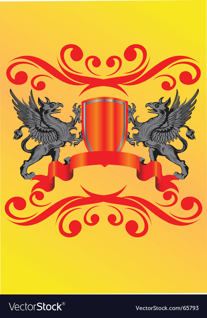 Heraldic symbol vector | Price: 1 Credit (USD $1)