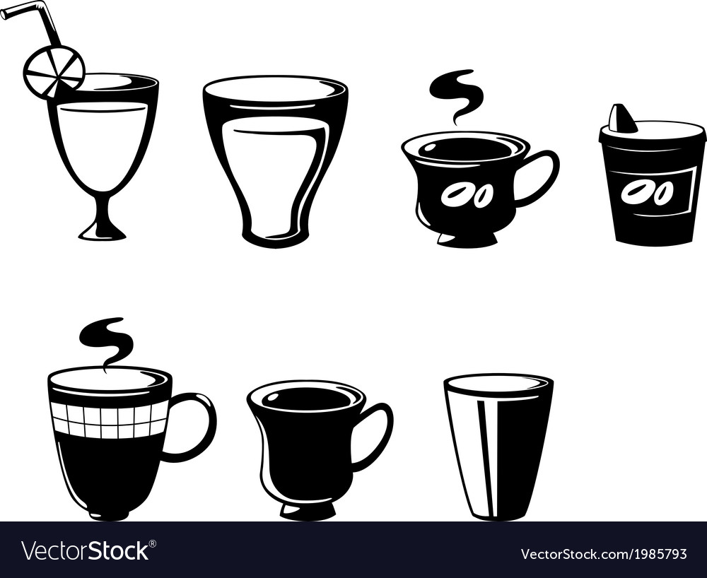 Set drink vector | Price: 1 Credit (USD $1)