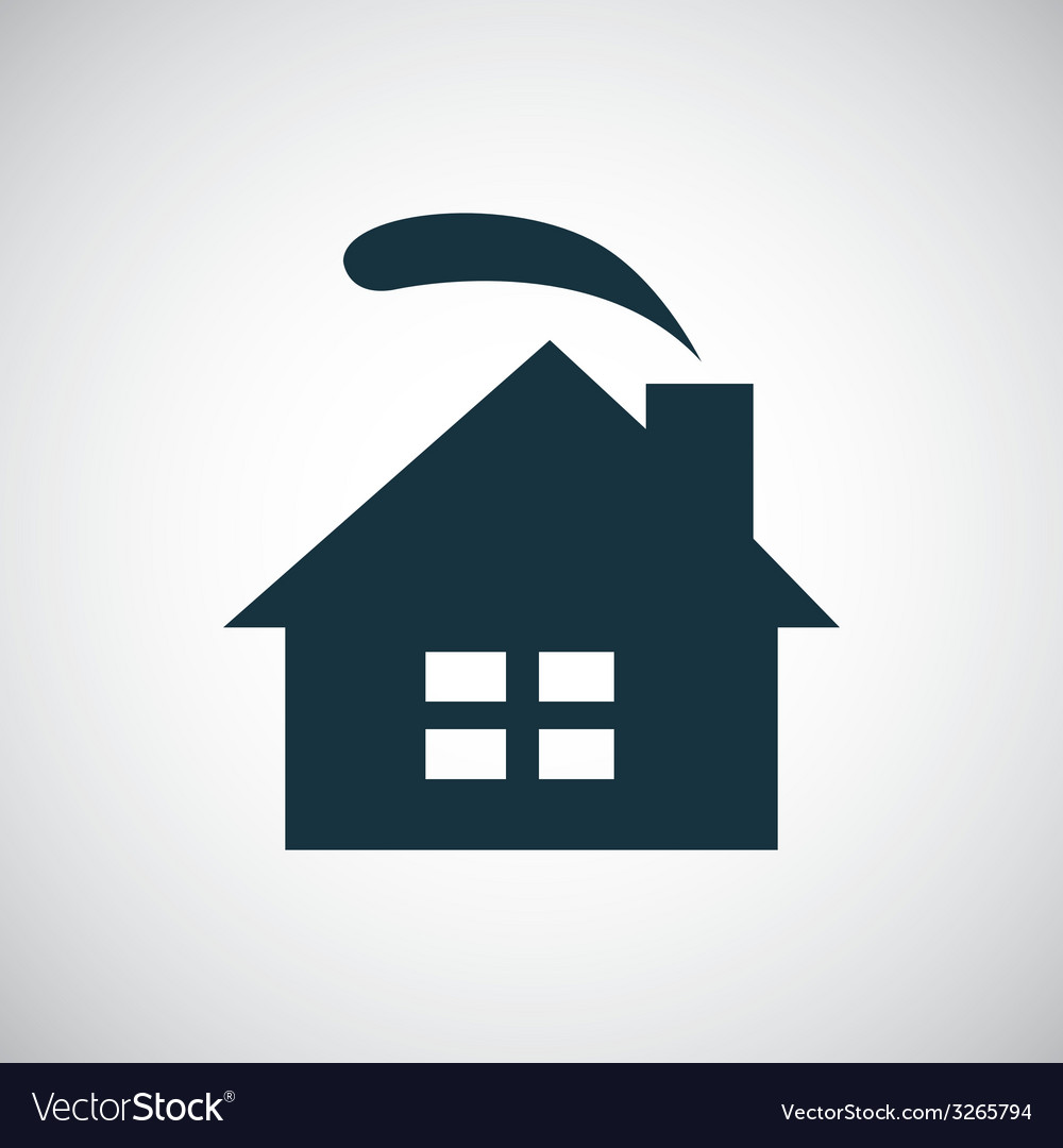 Cozy home icon vector | Price: 1 Credit (USD $1)