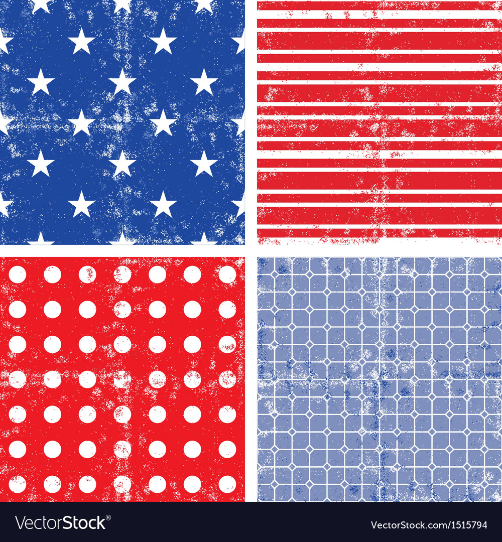 July 4th american textures vector | Price: 1 Credit (USD $1)