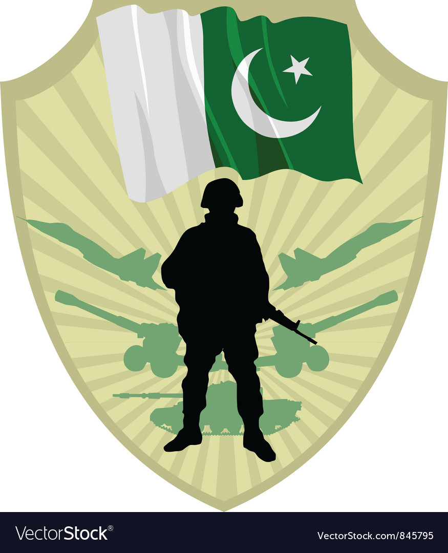 Army of pakistan vector | Price: 1 Credit (USD $1)