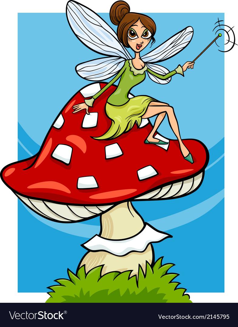 Elf fairy fantasy cartoon vector   Price: 1 Credit (USD $1)