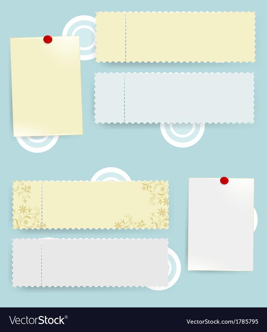 Empty blanks vector | Price: 1 Credit (USD $1)